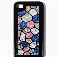 Honeycomb Glitter iPhone 4/4s Case   Tech Accessories   charming charlie