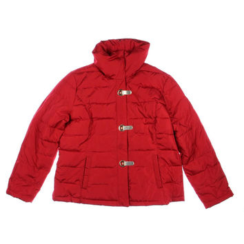 Charter Club Womens Quilted Long Sleeves Puffer Coat
