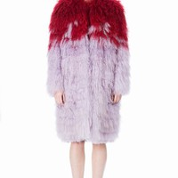 WALK OF SHAME GUILLOTINE FUR COAT - WOMEN - JUST IN - WALK OF SHAME - OPENING CEREMONY