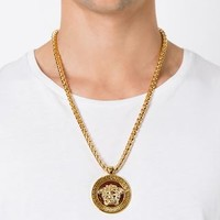 Versace Rounded Medusa Necklace - Elite - Farfetch.com
