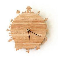 Home Sweet Home Modern Wall Clock