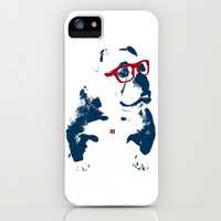Bulldog iPhone & iPod Case by Matt Irving