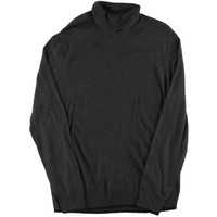 INC Mens Knit Heathered Turtleneck Sweater