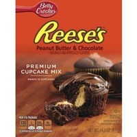 Betty Crocker Reese's Peanut Butter & Chocolate Cupcake Mix, 14.5 oz