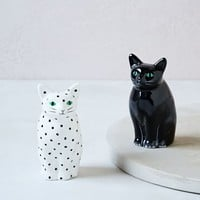 Cat Salt + Pepper Shaker Set