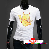 pikaaachooo sick nice design-- Pokemon T Shirt, Pokemon Clothing, Mens Pokemon , Funny T Shirt, Pokemon Shirt