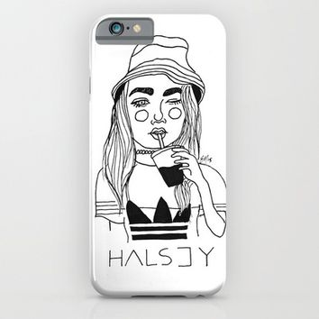 Halsey iPhone & iPod Case by ☿ Cactei ☿