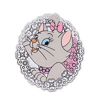 Disney Parks Marie Jeweled Pin New with Card