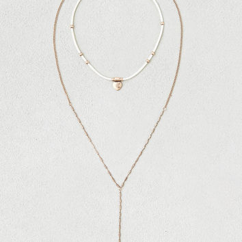 AEO Layered Necklace , Gold