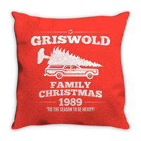 Griswold Family Christmas Throw Pillow
