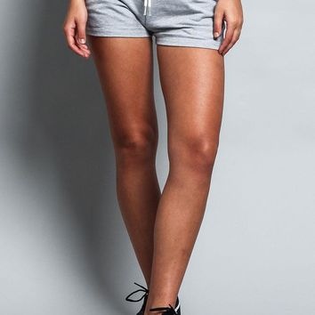 Women's Shorts With Drawstring (Bottom Only)