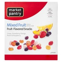 Market Pantry® Mixed Fruit Flavored Fruit Snacks, 50 - 0.9 oz. Pouches