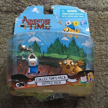 Finn & Jake Adventure Time Action Figure Sealed in Box Jazwares 2012