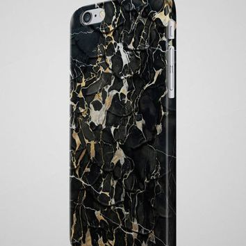Gold Black MARBLE iPhone 8 Case Marble 7 Case