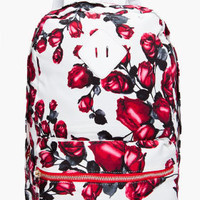 Jeffrey Campbell Red Rose Backpack for women