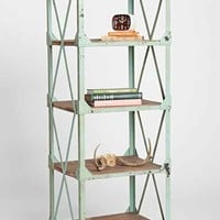 Factory Rolling Bookcase- Sky One