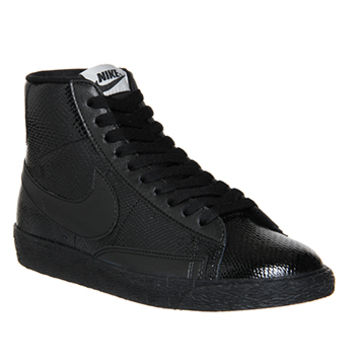 Nike Blazer Mid Vintage Leather Black Reptile - Unisex Sports