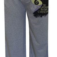 Nightmare Before Christmas Gray Lounge Pant