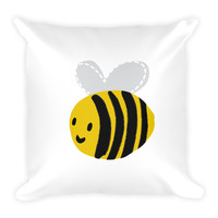 Busy Bee Square Pillow
