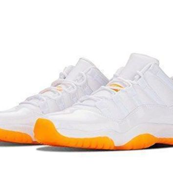 Beauty Ticks Jordan 11 Retro Low Citrus Big Kids Basketball Shoe Jordan 11