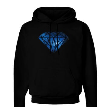 Space Diamond Dark Hoodie Sweatshirt