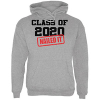 Graduation - Class of 2020 Nailed It Mens Hoodie