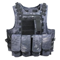 Tactical Vest Outdoor Camouflage Military Hunting CS Paintball Vest