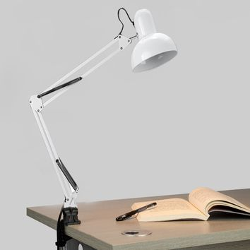 Homdox Desk Lamps Adjustable Arm Drafting Eyes Care Lamp