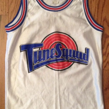 SPACE JAM Tune Squad VINTAGE Micahel Jordan Jersey Size Youth Medium