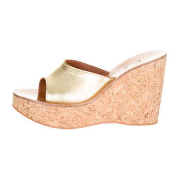 K Jacques St. Tropez Wedge Sandals