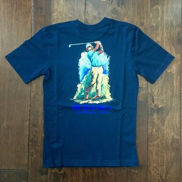 Southern Point - Youth Signature Tee - Bear Golf Navy