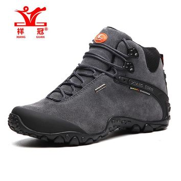 Leather Outdoor Climbing Shoes
