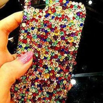 iPhone cases, iPhone 5 case - iPhone 4 case, iPhone 4s case, Floral iPhone 5 case, Bling iphone 4 case, iPhone 5 bling case sj103