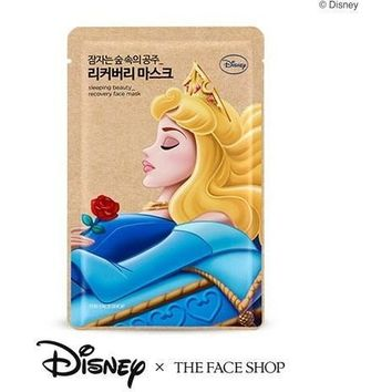 THE FACE SHOP x DISNEY PRINCESSES Sleeping Beauty Recovery Face Mask