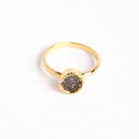 Mini Druzy Rings by LMV | a-thread