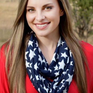 Star Spangled Scarf from Crazy Train
