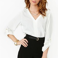 Lysette Studded Blouse