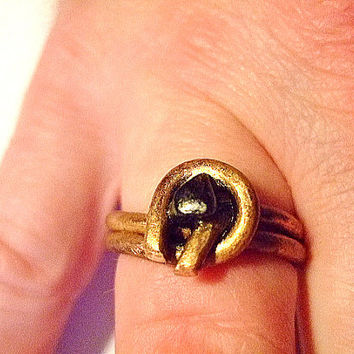 Men's Free Form Ring, Sz. 12, Gift for Him, Handmade Jewelry on Etsy, Unique, Gifts for Men, OOAK, Rustic