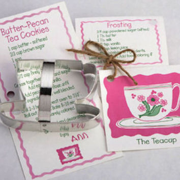 Tea Cup and Teapot Cookie Cutters