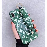Louis Vuitton LV Newest Fashion Personality Cute Phone Cover Case For iPhone 11 X XR XS XS MAX iphone 6 6s 6plus 6s-plus 7 7plus 8 8plus X Green