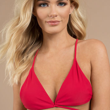 Set Free Triangle Bikini Top