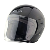 Motorcycle Motor Bike Scooter Safety Helmet 218   bright black