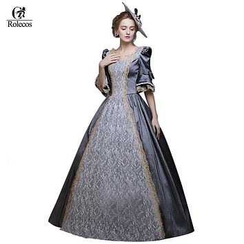 Women Princess Medieval Renaissance Victorian Dresses Princess Ball Gowns Dresses Masquerade Costumes