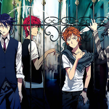 K Project Animated Series Poster