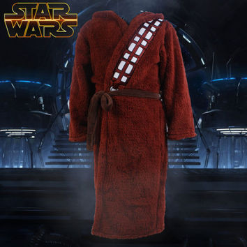 Star Wars Bath Robe Bathrobe Cloak Mantle Cape Hoodie chewbacca Cosplay Costume