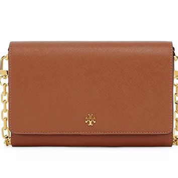 Tory Burch Women's EMERSON Chain Wallet Shoulder Bag Cross Body Bag