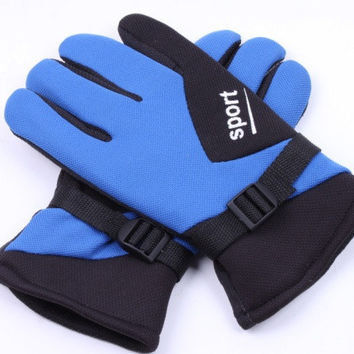 Waterproof Winter Sports Warm Men  Ski Snow Snowboard Gloves? = 1697488260