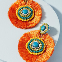 Malia Fringe Drop Earrings