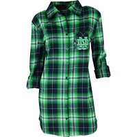 University of Notre Dame Women's Flannel Night Shirt