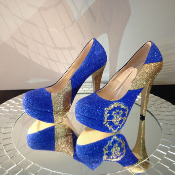 World of Warcraft Alliance Glitter High Heels
